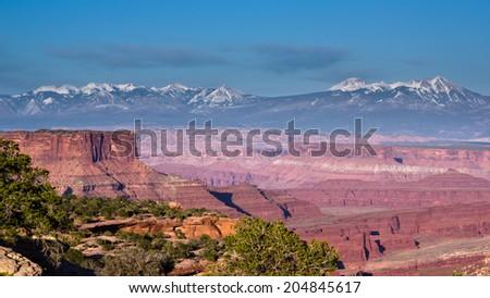 Canyonland National Park  - stock photo