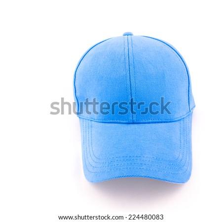 cap isolated on white background - stock photo