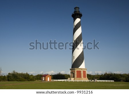 Cape Hatteras Lighthouse - stock photo