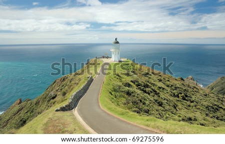 Cape Reinga -Northern Island - New Zealand - stock photo