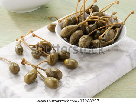 Capers - stock photo