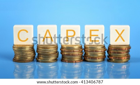 CAPEX ( Capital Expenditure), business/finance conceptual. - stock photo