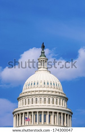 Capital Building, Washington DC - stock photo