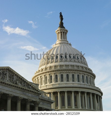Capitol Building in Washington, DC. - stock photo