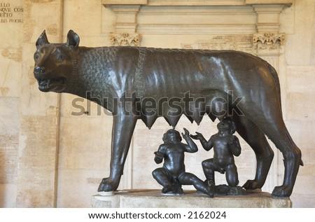 Capitoline She-wolf - stock photo
