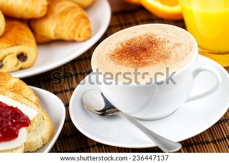 Cappuccino - stock photo