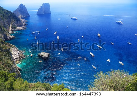 Capri Island, Italy, Europe - stock photo