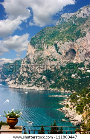 Capri, Italy - stock photo