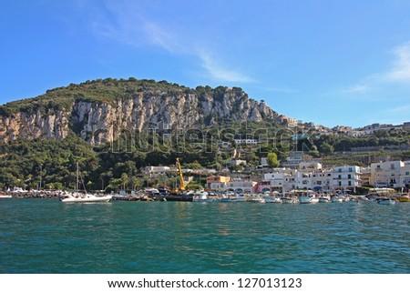 Capri,Italy - stock photo