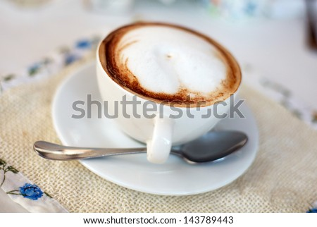 Capuchino - stock photo