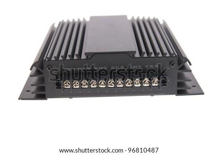 Car amplifier - stock photo