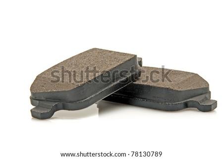 car brake pads - stock photo