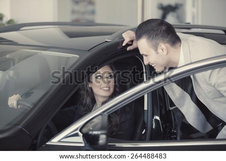 Car Buying - stock photo