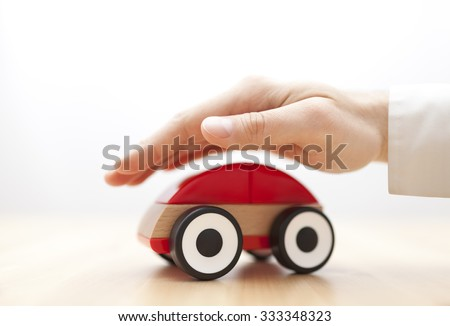 Car insurance  - stock photo