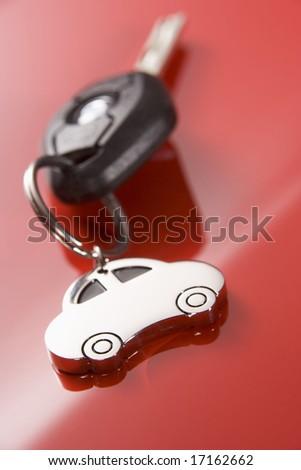 Car Key - stock photo