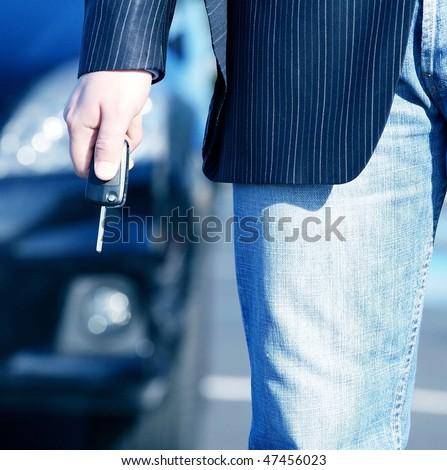 car key to buy - stock photo