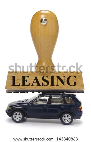 car leasing - stock photo