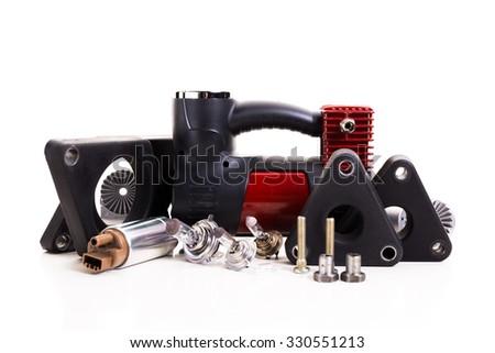 Car parts - stock photo