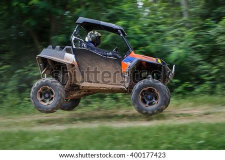 Car ramping - stock photo