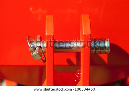 Car Sow Seeds , Agricultural use - stock photo