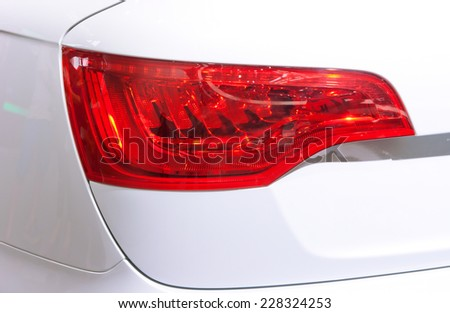 car Taillight - stock photo