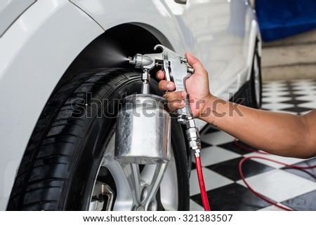 car wash business - stock photo