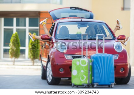overloaded car stock photos images pictures shutterstock. Black Bedroom Furniture Sets. Home Design Ideas
