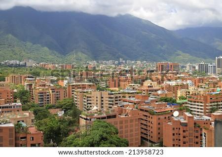 Caracas city. Caracas, Capital of Venezuela - stock photo
