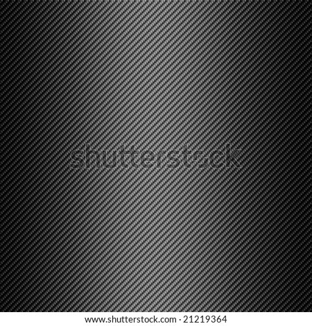 Carbon Fiber Black Background Texture - High Detail - stock photo