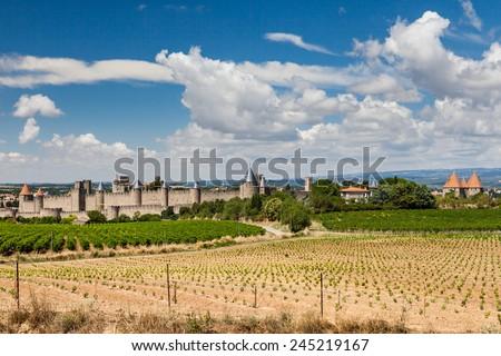 Carcassonne - stock photo