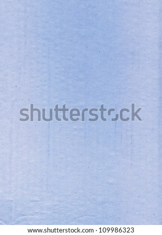cardboard empty blue space for the text background brown yellow covered with spots of oil paint textured and dark reflections - stock photo
