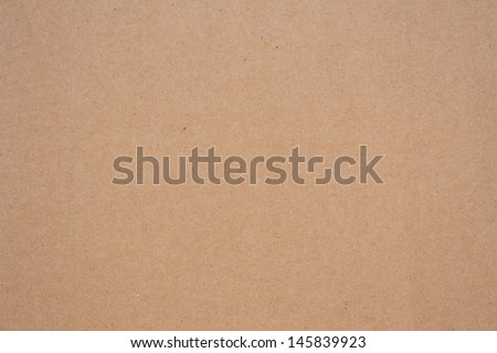 Cardboard paper surface - stock photo