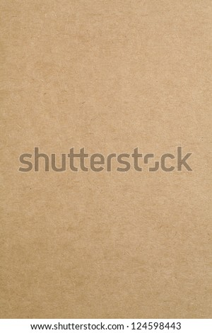 Cardboard sheet of paper - stock photo