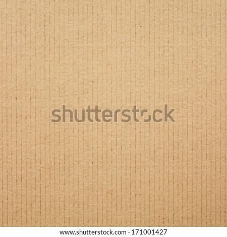 Cardboard. Square format. - stock photo