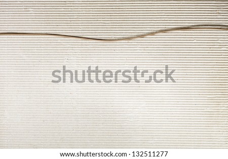 Cardboard texture background with delicate pattern - stock photo