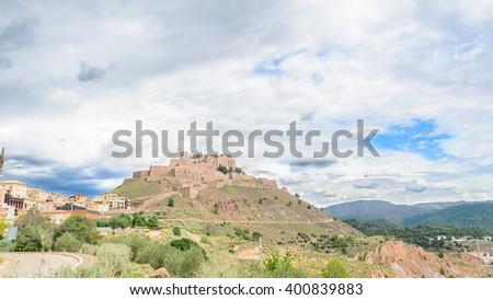 Cardona Castle - stock photo