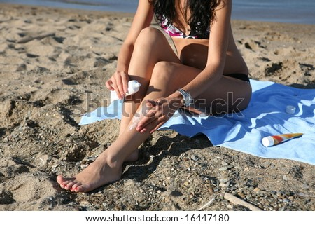 care-foot - stock photo