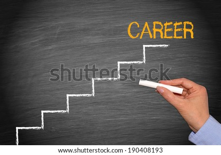 Career - Business Concept - stock photo