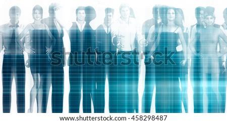 Career Development as a Business Training Concept - stock photo
