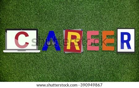 Career Employment Job Work Concept - stock photo