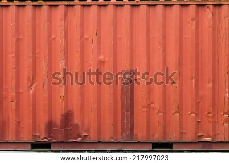 cargo ship container texture - stock photo