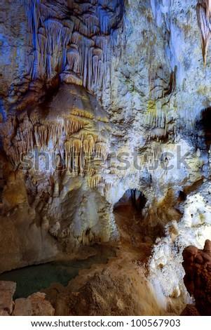 Carlsbad Caverns - stock photo