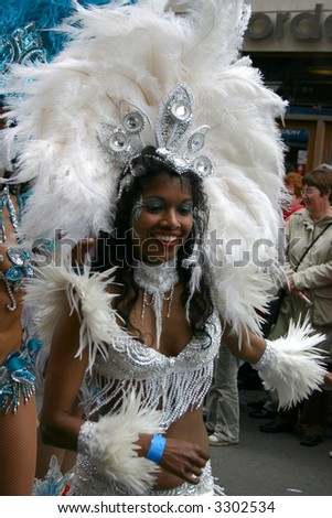 Carnival in Copenhagen - stock photo