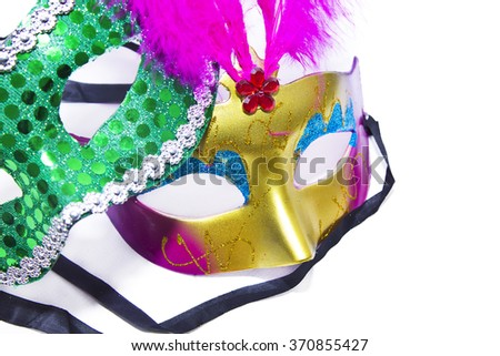 Carnival masks - stock photo
