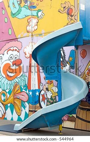 Carnival slide - stock photo