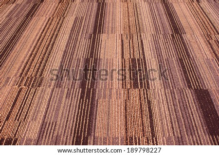Carpet texture look like something is moving,that is conceptual - stock photo