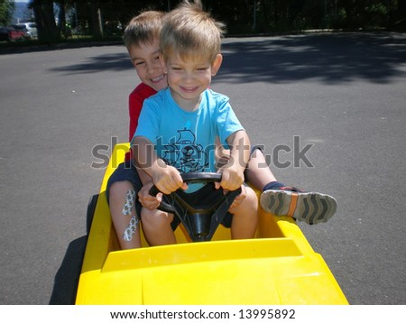 Carpooling - stock photo