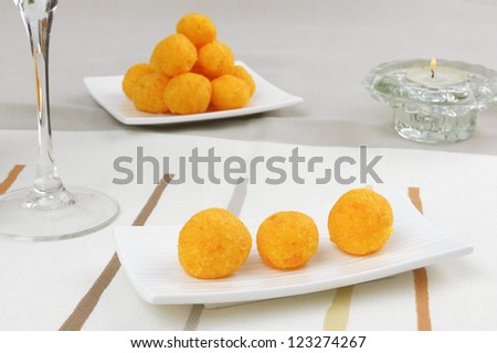 Carrot balls - stock photo