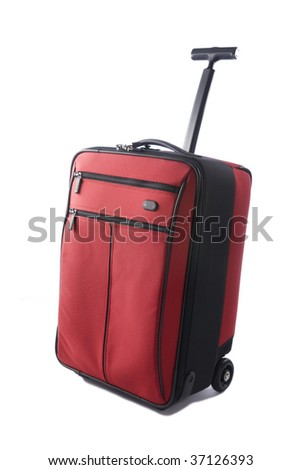 Carry-on Luggage - stock photo