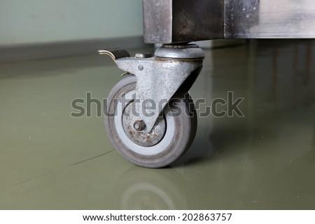 Cart Wheels - stock photo